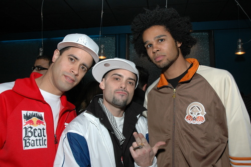 Crazy Leggs and Fever One of The Rock Steady Crew and Afro-DZ-Ak of The Eclectic Collective