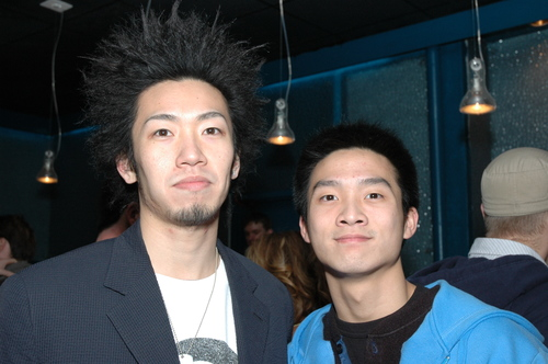 Sho and Mike Chung from Freshness Mag